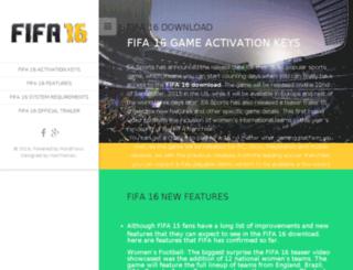 fifa16download.xyz screenshot