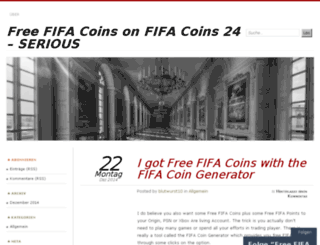fifacoins24.wordpress.com screenshot