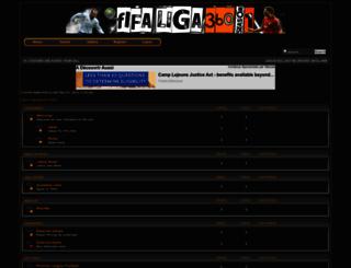 fifaliga360.foroactivo.com screenshot