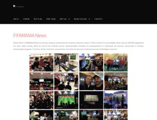 fifamania.com.br screenshot