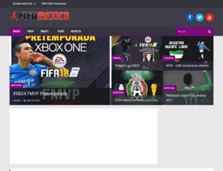 fifamexico.net screenshot