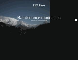 fifaperu.net screenshot
