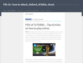 fifatutorial.com screenshot