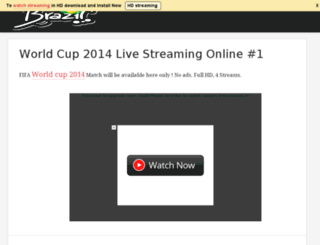 fifaworldcup2014liveonlinehdstreaming.blogspot.in screenshot