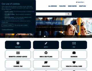 fife.gov.uk screenshot