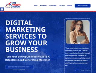 fifewebsitedesign.co.uk screenshot