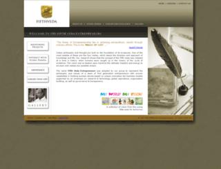 fifthvedaentrepreneurs.com screenshot