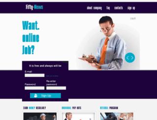 fifty-news.com screenshot
