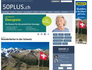 fifty-plus.ch screenshot