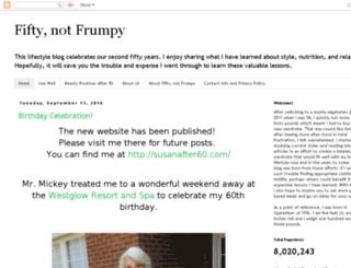 fiftynotfrumpy.blogspot.ie screenshot