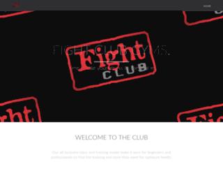 fightclubamerica.com screenshot