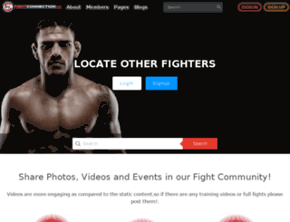 fightconnection.com screenshot