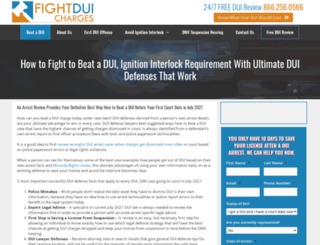fightduicharges.com screenshot
