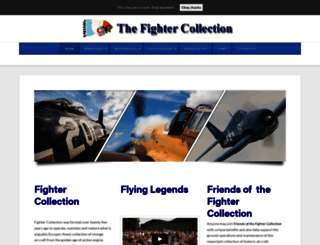 fighter-collection.com screenshot
