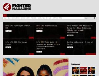 fightermag.se screenshot