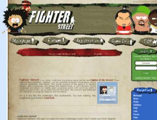 fighterstreet.com screenshot