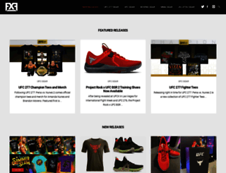 fighterxfashion.com screenshot