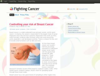 fightingcancerblog.blog.com screenshot
