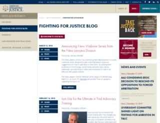 fightingforjustice.org screenshot
