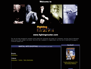 fightingmaster.com screenshot