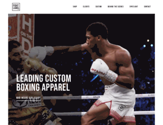 fightlabel.co.uk screenshot