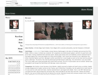 fightmagnet.dreamwidth.org screenshot
