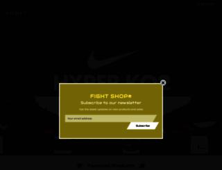 fightshop.com screenshot