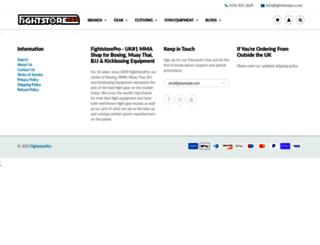 fightstorepro.com screenshot