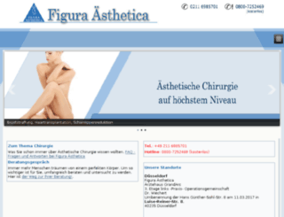 figura-aesthetica.net screenshot