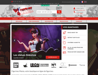 figurines-mania.com screenshot