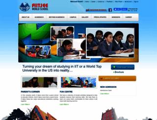 fiitjeeworldschool.com screenshot