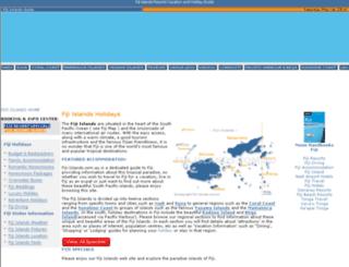 fiji-islands.com.au screenshot