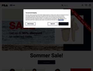 fila.de screenshot