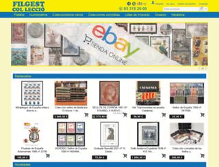 filateliafilgest.com screenshot
