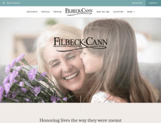 filbeckcannking.com screenshot