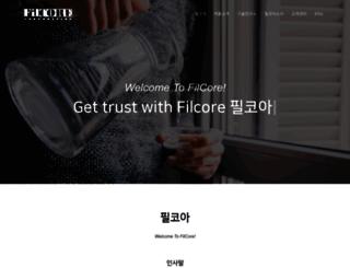 filcore.co.kr screenshot