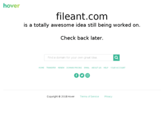 fileant.com screenshot