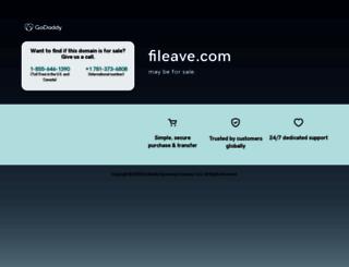fileave.com screenshot
