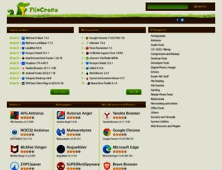 filecroco.com screenshot
