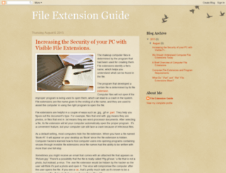 fileextensionguide.blogspot.com screenshot
