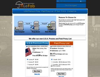 filefab.com screenshot