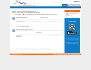 fileflyer.com screenshot