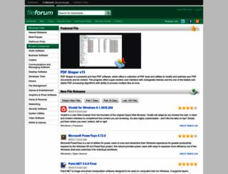 fileforum.com screenshot