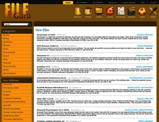 fileguru.com screenshot