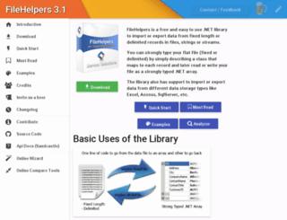 filehelpers.com screenshot