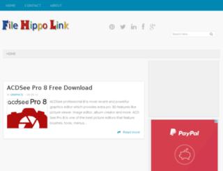 filehippolink.blogspot.com screenshot