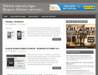 fileicesurveytips.blogspot.com screenshot