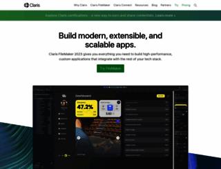 filemaker.com screenshot