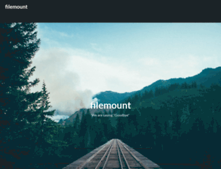 filemount.com screenshot