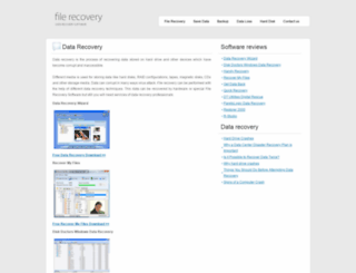 filerecoveryreview.com screenshot